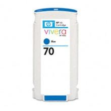 Genuine HP 70 C9458A Blue Ink Cartridge