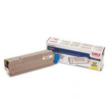 Original Okidata 43487733 Yellow Toner Cartridge