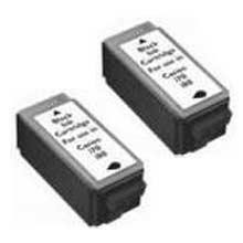 Compatible Canon BCI-15BK Black Ink Cartridge 2 Pack