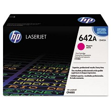 Genuine HP 642A CB403A Magenta ColorSphere Print Cartridge