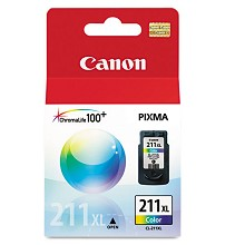 Original Canon CL-211XL High Capacity Color Ink Cartridge