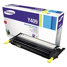Original Samsung CLT-Y409S Yellow Toner Cartridge