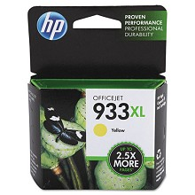 Genuine HP 933XL CN056AN High Capacity Yellow Ink Cartridge