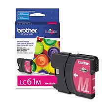 Original Brother LC61M Magenta Ink Cartridge