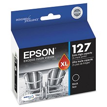 Original Epson T127120 Extra High Yield Black Ink Cartridge